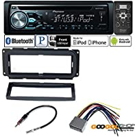 CAR STEREO CD RECIEVER DASH INSTALL MOUNTING KIT WIRE HARNESS RADIO ANTENNA FOR CHRYSLER DODGE