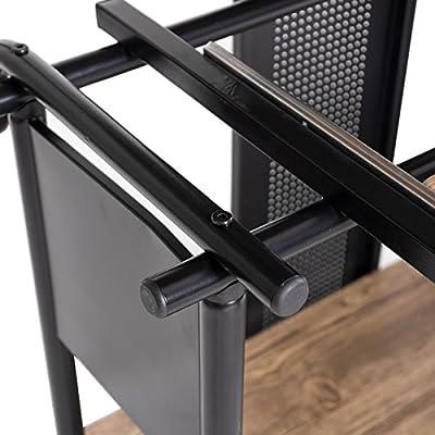 tangkula escritorio de ordenador portátil ampliables de esquina en ...