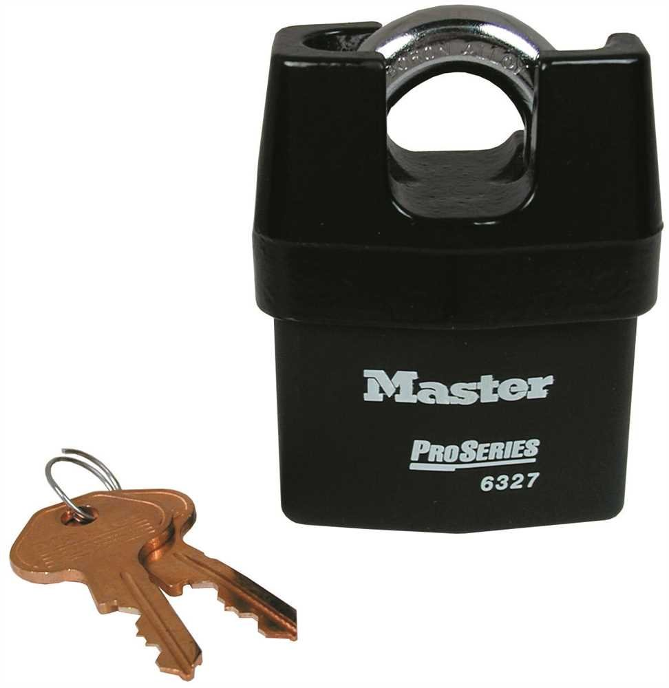 MASTER LOCK PRO-PADLOCK 2-5/8 IN. BODY HIGH SECURITY LOCK SOLID STEEL
