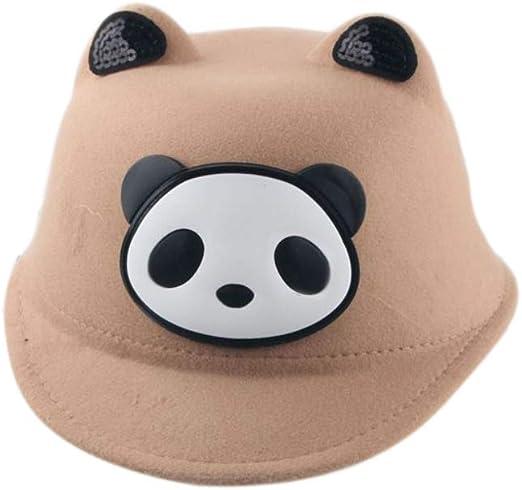 Softmusic Kids Baby Outdoor Sun Hat,Boys Girls Lovely Cartoon Panda Ears Equestrian Cap