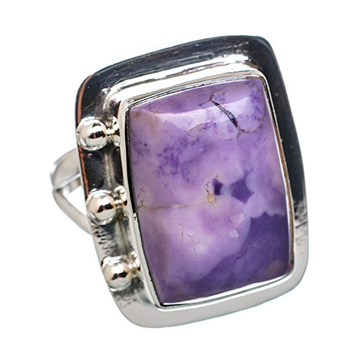 Ana Silver Co Morado Opal 925 Sterling Silver Ring Size 7.75 RING794587 (Ana Silver Co Purple compare prices)