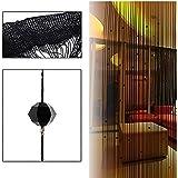 Rideau Porte Gosear® Rideau de Fil Lamelle Résistants aux Bestioles et anti Mouches 100 x 200 cm