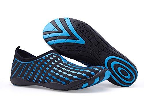 Badeschuhe Rutschfeste Schwimmen Surfschuhe Herren Leicht Unisex Wasserschuhe Strandschuhe Tauchen Ll blau Barfußschuhe Damen zx8qZXXt