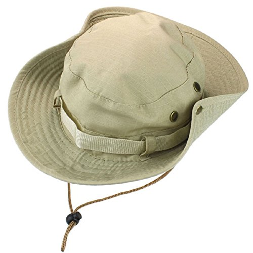 Doinshop Unisex Tactical Cap Field Bucket Hat Hunting Fishing Military Hat (Cheap Bucket Hats)