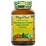 MegaFood - Calcium, Magnesium & Potassium - Calcium and Magnesium Help in the