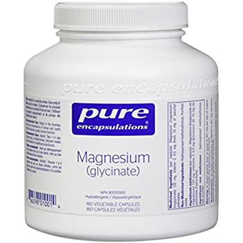 Pure Encapsulations - Magnesium (Glycinate) - Supports Enzymatic and Physiological Functions* - 180 Capsules