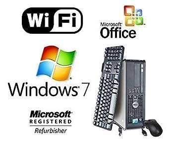 dell dual core 2 duo 30ghz fast 8gb desktop pc 1tb windows 7 pro wifi