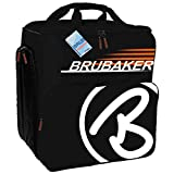 HENRY BRUBAKER Winter Sports Boot Bag SUPER CHAMPION Backpack Black Orange