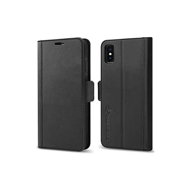 iPhone Xs Max Wallet Case [3D Full Cover
