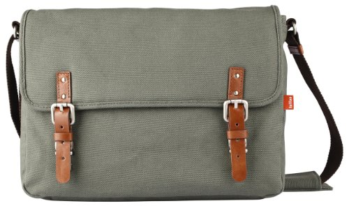 Toffee Fitzroy Satchel for most Laptops up to 15.4-inch (Green) by Toffee (Image #6)