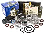 Evergreen TBK328MWPA 02-05 Subaru Impreza WRX Turbo 2.0 DOHC EJ205 Timing Belt Kit AISIN Water Pump