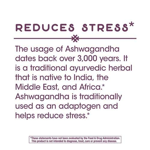 Nature's Way Ashwagandha, 500 mg per Serving