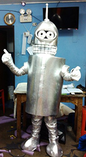 Handmade Bender Mascot Costume Adult (Bender Costume)