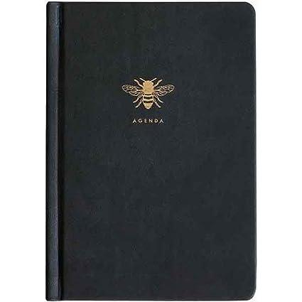Sky + Miller - Agenda de piel sintética con diseño de abejas ...