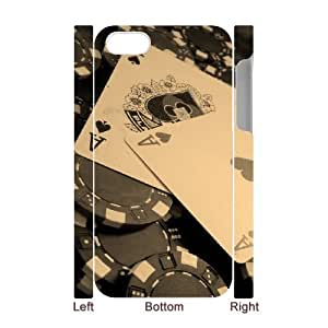 iPhone 4 4s Cell Phone Case 3D Game Poker Classical
