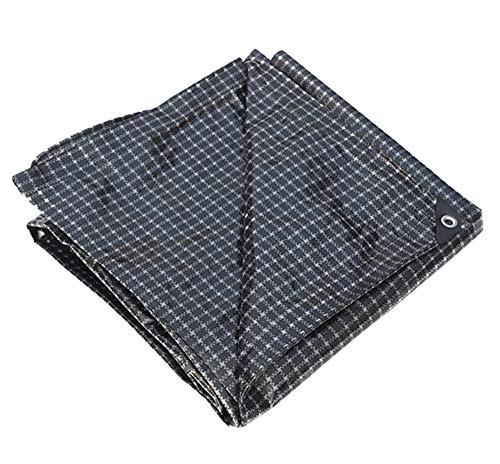 時折絶対の悪因子トラック用保護シート防水防水日焼け止めプラスチック黒と白の防水シート耐摩耗性耐候性耐候性布160g /平方メートル(22サイズあり) (色 : Black and white, サイズ さいず : 3 * 5m)
