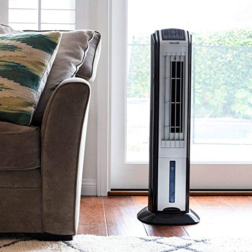 NewAir Portable Evaporative Air Cooler with Fan and Humidifier, Personal Indoor Outdoor Space Cooler, AF-310