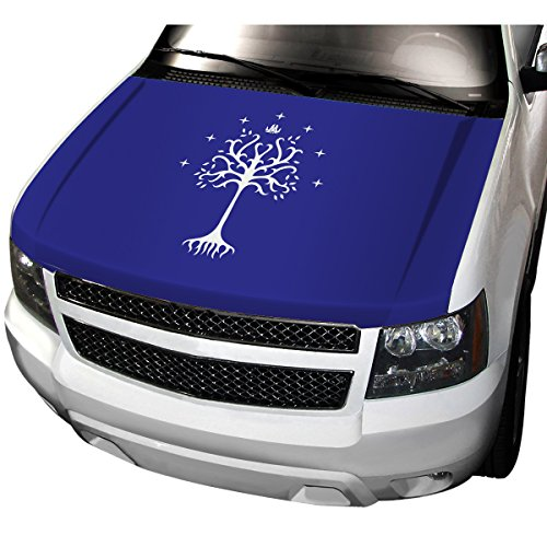 APFoo Lord of the Rings Gondor White Tree Car Automobile Hood Cover M(80x130cm)