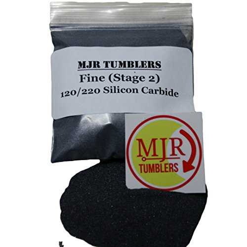 MJR Tumblers 3 lb Silicon Carbide 120/220 Rock Grit Polish by MJR Tumblers (Image #1)