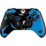Skinit NFL Carolina Panthers Xbox One Controller Skin - Carolina Panthers Large Logo Design - Ultra Thin, Lightweight Vinyl Decal Protection