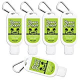 Bahama Bo's Travel Size Extra-Moisturizing Mini Hand Lotion 5-Pack Ocean Fresh 1.5 oz Containers with Clip, Airline Approved