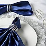 Mikash Spiral Design Aluminum Napkin Rings Wedding Dinner Party Decorations Sale | Model WDDNGDCRTN - 18202 | 48 Pieces
