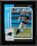"Christian McCaffrey Carolina Panthers 10.5"" x 13"" Sublimated Player Plaque - NFL Player Plaques and Collages"