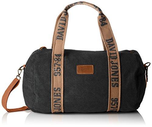 David Jones Cm3823, Sac porté épaule Noir (Black)
