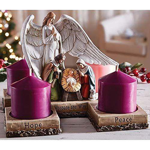 FA Dumont Nativity Advent Candleholder