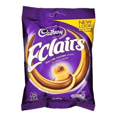 Original Classic Cadbury Chocolate Eclairs Imported from the UK, England ()
