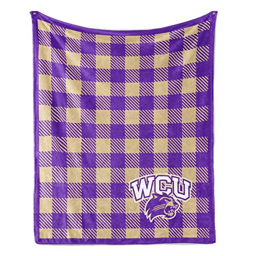 Western University Halloween (Official NCAA Western Carolina University Catamounts - Light Weight Fleece Blanket -)