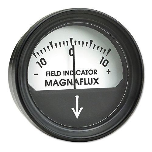 Magnaflux 2480 Magnetic Field Indicator, Non-Calibrated, -10 Gauss to 10  Gauss, Plastic