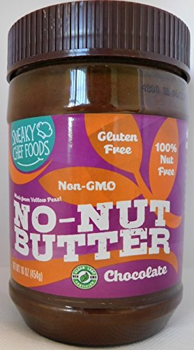 Chocolate Soy Butter - The Sneaky Chef No-Nut Butter Chocolate, 16 Ounce
