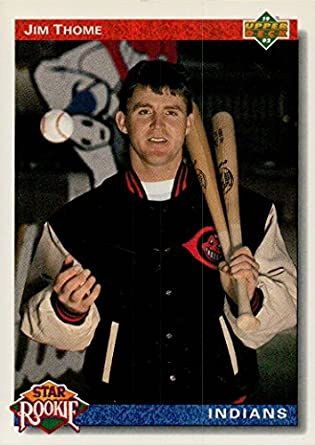Jim Thome Rookie Card 1991 Upper Deck Star Rookie Baseball