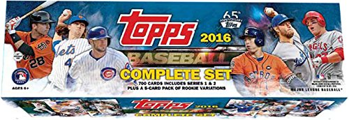 MLB 2016 Baseball Factory Set
