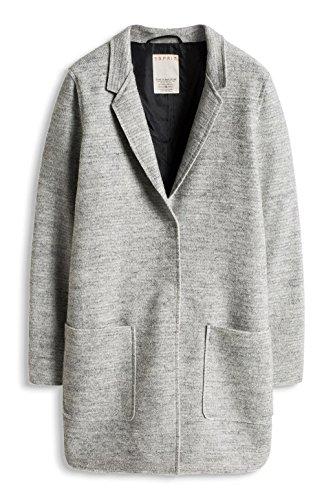 Esprit Damen Mantel Grau Light Grey 040 O8ucvo Tameckt Emsdettende