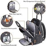 Diaper Bag Backpack, RUVALINO Multifunction Travel