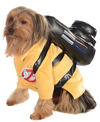 Halloween Costumes Item - Cat & Dog Costume Ghostbusters Small]()