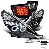 Spec-D Tuning L12-LTLHPCEL00JMTM Fog Tail Headlight (Celica Halo Black LED Brake Lamp)