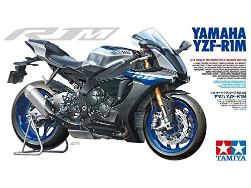 TAMIYA 1/12 Motorcycle Series No.133 Yamaha YZF-R1M (14133)【Japan Domestic Genuine Products】【Ships from Japan】 from Tamiya
