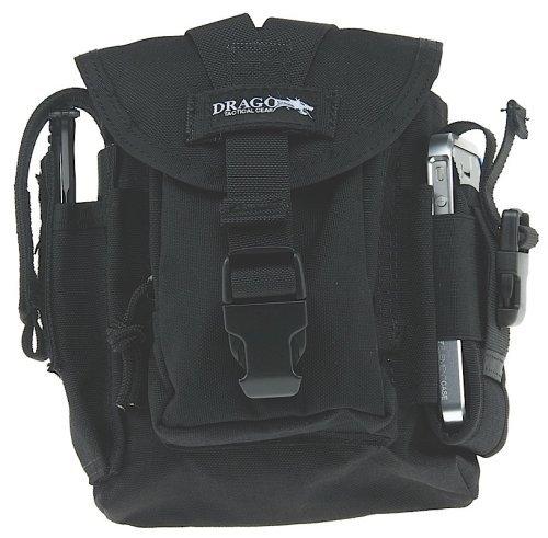 Drago Gear Tactical Belt Bag Black