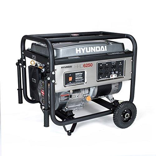 Hyundai HHD6250 6250-Watt 4-Stroke Portable Heavy Duty Generator
