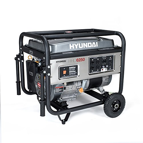 Hyundai HHD6250 6250-Watt 4-Stroke Portable Heavy Duty Ge...