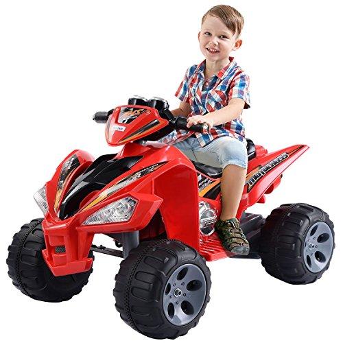 Giantex Kids Ride On ATV Quad 4 Wheeler Electric Toy Car 12V...
