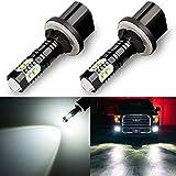 Antline Extremely Bright 50W High Power 880 890 892 893 899 LED Fog Light Bulbs Xenon White for DRL or Fog Lights (Packs of 2)