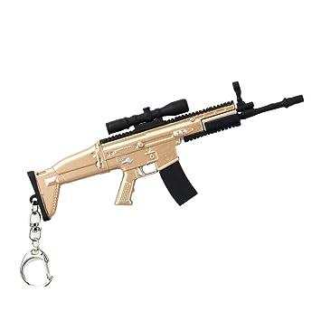 Llavero HuAma Pubg Juego Arma Metal 98K Pistola AWM Colgante Hecho A Mano: Amazon.es: Hogar