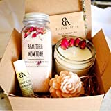 SHIP NEXT DAY Beautiful Mom To Be Gift Basket by Beets & Apples - Expecting Mom Gifts - Pregnancy Gift Set - Gift ideas for Mom To Be (Arrive within 1-3 business business days once shipped!)