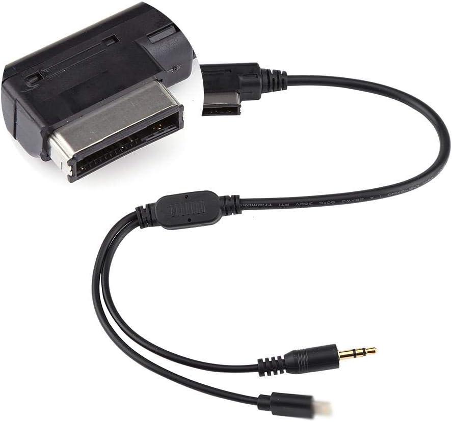 Adaptateur de C/âble Auxiliaire de Voiture 3,5 mm MDI AMI MMI