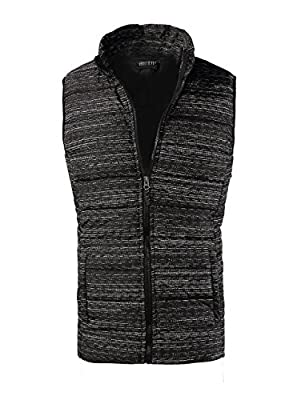 Men's Winter Padded Vest Outwear