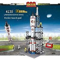 Planet of Toys Building Blocks for Kids, Space Rocket Blocks for Kids Children Toys - (309 Pcs )